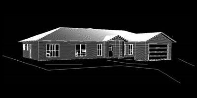 Contemporary Suburban House - Home Design