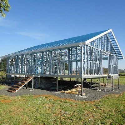Phil Rothwell, Ebor NSW - Steel Frame Kit Home