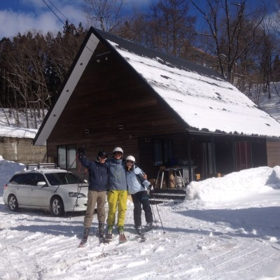 Japan Ski Chalet - Steel Framed survives a magnitude 7.2 earthquake
