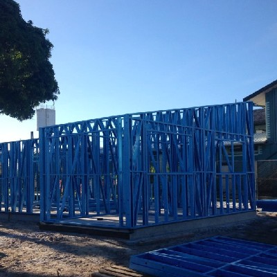 Tin Can Bay, QLD - Steel Frames
